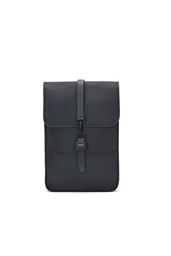 Rains Backpack Mini, Mochila Unisex Adultos, Negro (Black), 28.9x39.0x9.0 cm (W x H x L)
