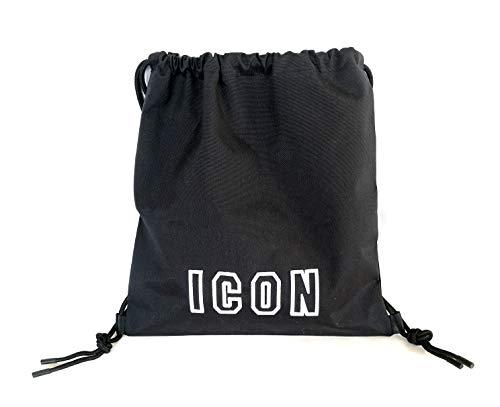 Dsquared2 mochila bolso de hombre nuevo Icon negro