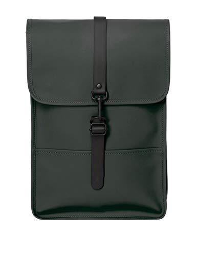 RAINS Backpack Mini Mochila, Mujer, Green, Talla Única