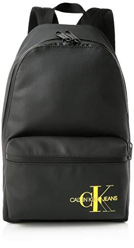 Calvin Klein - Ckj Coated Cotton Campus Bp 45, Mochilas Hombre, Negro (Black), 1x1x1 cm (W x H L)