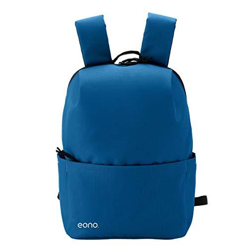 Eono Essentials - Mochila Ultraligera Resistente al Agua, Ideal para Viajes y Actividades al Aire Libre, para Hombre, Mujer y niño (10 L) (Azul)