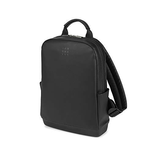Moleskine - Mochila Clásica Pequeña para Llevar el Ordenador Portátil, Tablet y iPad de hasta 13', Tamaño 27 x 36 x 9 cm, Negro