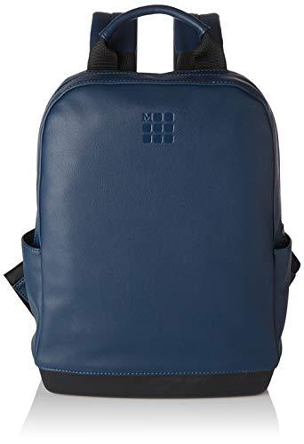 Moleskine - Mochila Clásica Pequeña Compatible con Ordenador Portátil, Tablet y iPad de Hasta 13', Tamaño 27 x 36 x 9 cm, Azul Zafiro