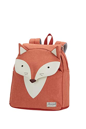 Samsonite Happy Sammies Mochila Infantil S, 28 cm, 7.5 L, Naranja (Fox William)