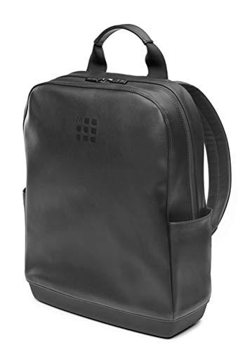 Moleskine - Mochila Clásica para Ordenador Portátil, Tablet y iPad de hasta 15'', Tamaño 32 x 42 x 11 cm, Negro
