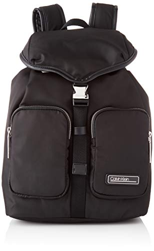 Calvin Klein Mujer Backpacks, Negro, Taglia unica