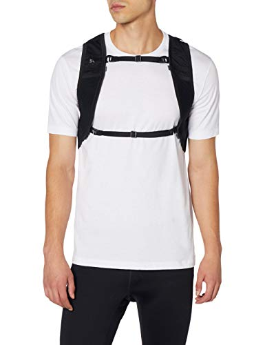 ASICS Running - Mochila de poliéster para correr, unisex, bolsillo trasero, bolsillo frontal, bolsillo lateral, 350 mm