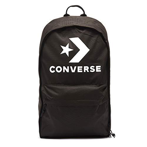Converse 2019 Mochila Tipo Casual, 46 cm, 22 Litros, Negro