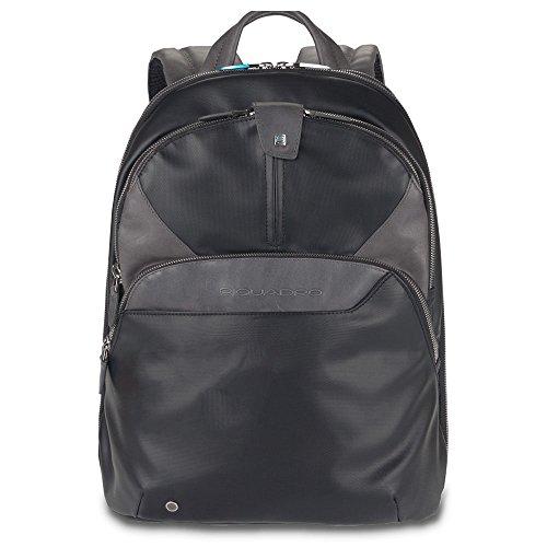 Piquadro CA294 Casual Daypack Mochila, 27 x 14.5 x 36 cm, color Negro