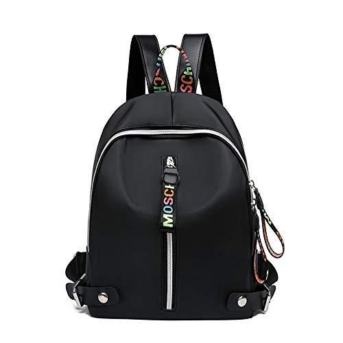 Mochila escolar para niña, mochila de lona, mochila escolar, mochila escolar, mochila escolar, gran capacidad, para hombres, para compras, viajes, senderismo, exterior