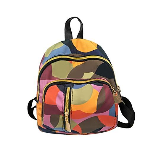 Luckycat Bolso gimnasio mochila con gran capacidad para deportes viajes escolares para hombres Mujer Mochila Monedero Impermeable de Oxford antirrobo Mochila Ligera Bolsa de Hombro Escuela