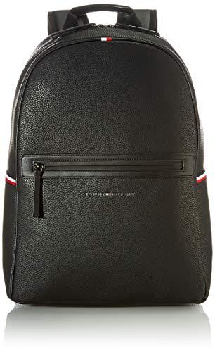 Tommy Hilfiger Essential, Mochila para Hombre, Black, One Size