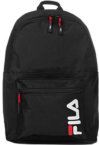 Fila - Urban Line Backpack S'cool, Mochilas Unisex adulto, Negro (Black), 15.5x42.5x29 cm (B x H T)