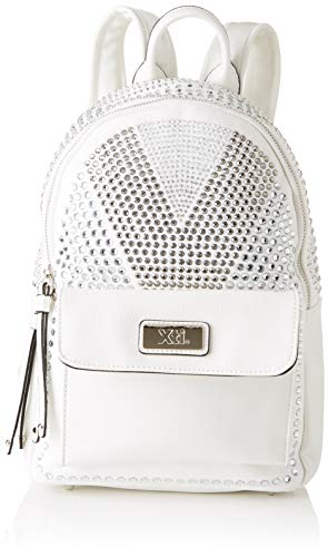 XTI 86069, Bolso mochila para Mujer, Blanco (Blanco), 24x29x12 cm (W x H x L)