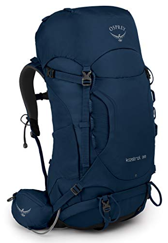 Osprey Kestrel 38 Men's Hiking Pack - Loch Blue (M/L)