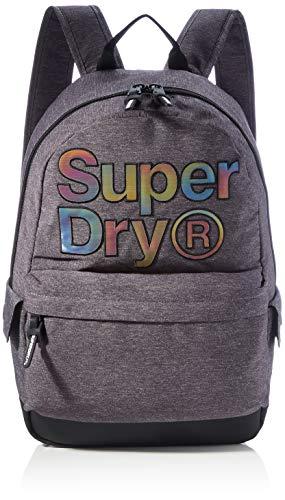 Superdry Rainbow INFILL Montana, Mochila para Mujer, gris, Einheitsgröße