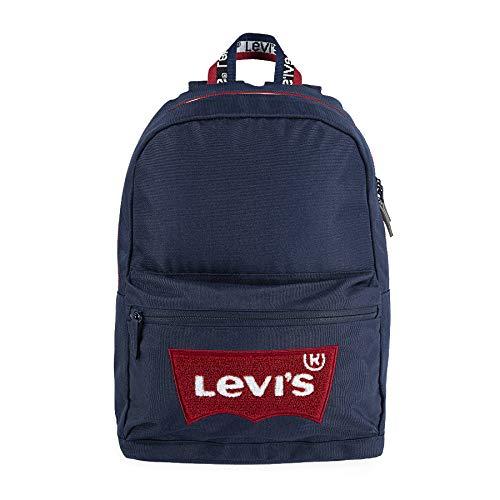 Levi's Kids MULTI-ZIP BATWING BACKPACK 8382 Mochila Dress Blues para Niñas