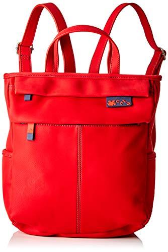 ctta caminatta Marea - Mochila para mujer, Rojo, 12 x 29 x 25 cm
