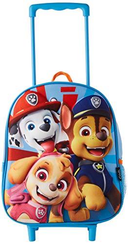 Cerdá, Mochila con Ruedas Infantil 3D de Paw Patrol-Licencia Oficial Nickelodeon Unisex niños, Multicolor, 260X310X100MM