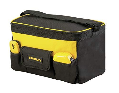 STANLEY STST1-73615 - Bolsa para herramientas profunda de tapa plana 14' / 34 cm