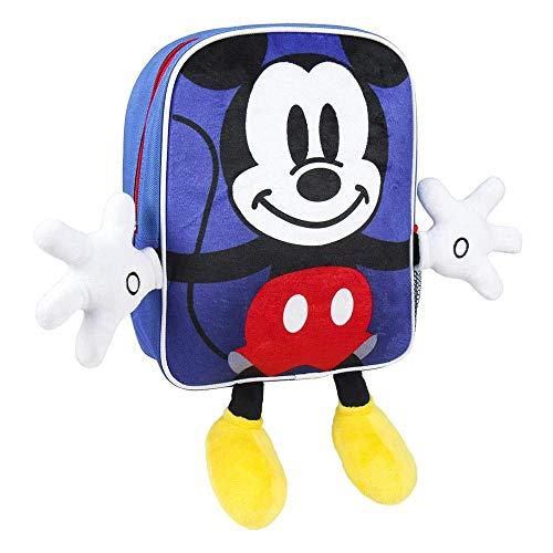 Artesania Cerda Personaje Mickey - Mochila Infantil, 31 cm, Azul