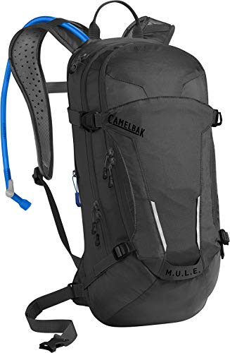 CamelBak M.U.L.E. Mil Spec - Mochila de hidratación para adulto, color negro, tamaño Talla única