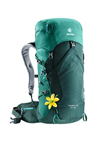 Deuter Speed Lite 24 SL Mochila Tipo Casual 58 Centimeters 24 Verde (Forest-Alpinegreen)