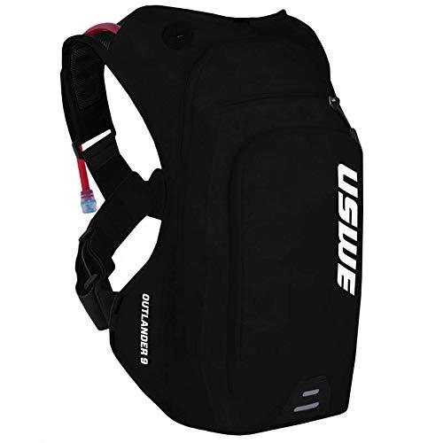 USWE Sports Outlander 9 - Mochila de hidratación con Bolsa de hidratación, Color Negro, 9 litros