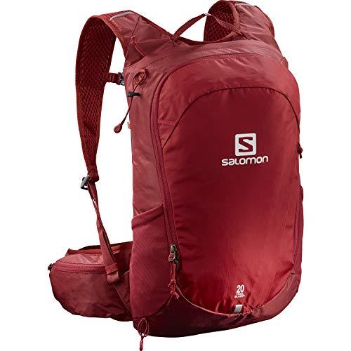 Salomon Trailblazer 20 L Mochila multifuncional con comodidad 3D y compatibilidad con el sistema de hidratación para el senderismo