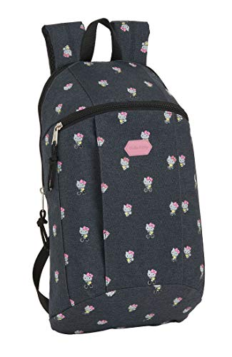 safta Mini Mochila Uso Diario de Hello Kitty Happiness, 220x100x390mm