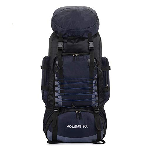 GXFCQKDSZX Mochila Que acampa 90L Mochila Que acampa del montañismo Impermeable al Aire Libre de la Gran Capacidad