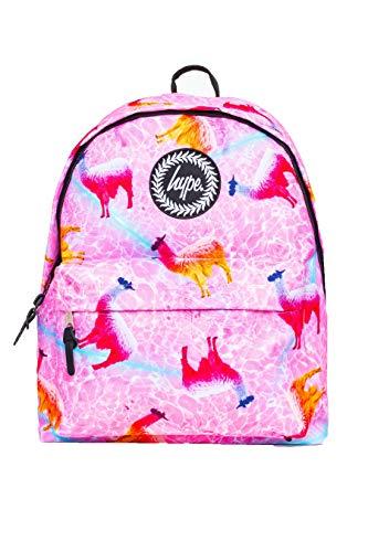 HYPE - Llama Pool, Mochila Unisex adulto, Pink, One Size