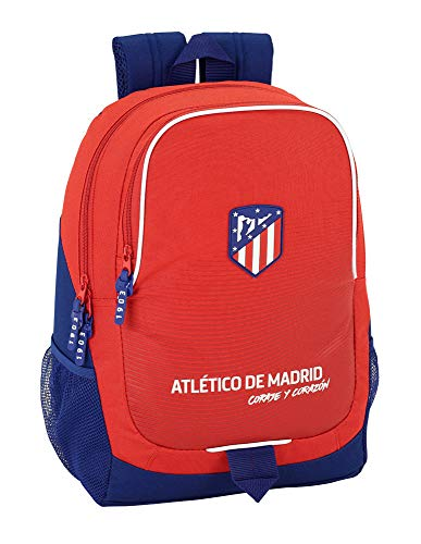 Safta Mochila Escolar Atlético De Madrid 'Coraje' Oficial 320x160x440mm