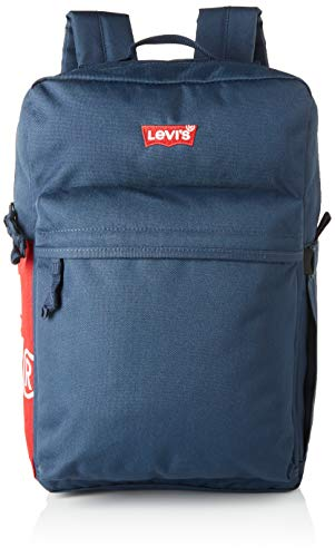 LEVIS FOOTWEAR AND ACCESSORIESUpdated Levi's L Pack Standard Issue - Red Tab Side LogoUnisex adultoLevi's L Standard Issue Pack actualizado: logotipo lateral con pestaña rojaMarinoUN
