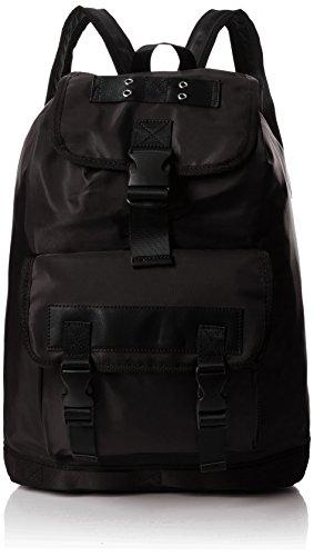 Aldo - Lovialian, Mochilas Hombre, Black (Black Leather), 14x52x33 cm (W x H L)