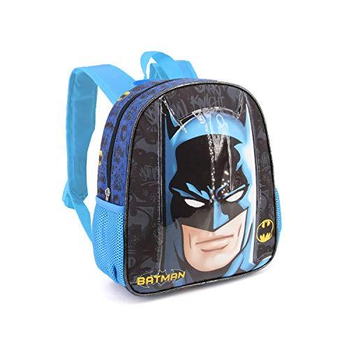 Karactermania Batman Knight-Basic Rucksack Mochila Infantil 40 Centimeters 18.2 Multicolor (Multicolour)