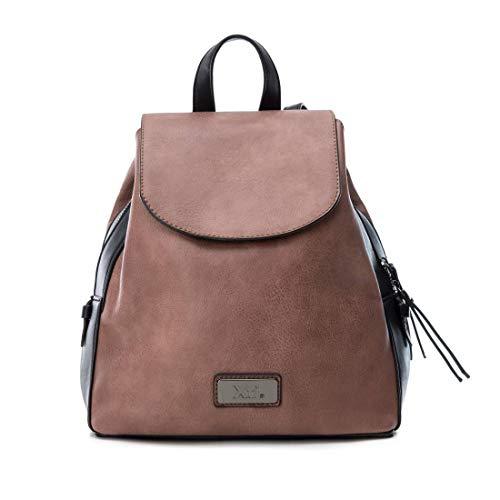 XTI 86146, Bolso mochila para Mujer, Rosa (Nude), 25x26x14 cm (W x H x L)