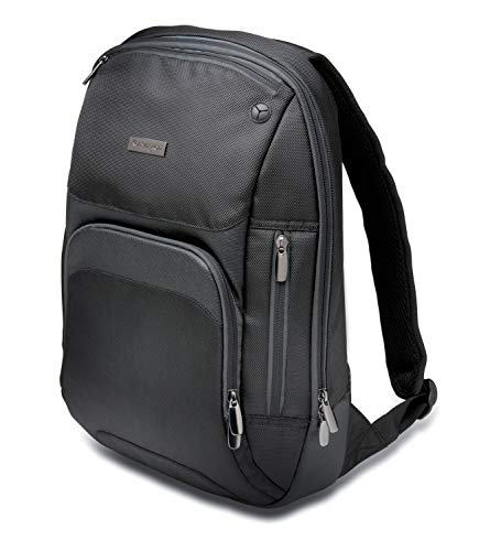 Kensington K62591EU - Mochila Triple Trek Optimizada para Ultrabook, Negro, 43 cm