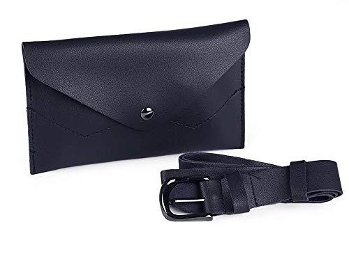 1pc Azul Oscuro Cintura/Bolso de la Correa de la Bolsa, Eco-cuero Bolsos de mano, Mochilas, Suplica, Accesorios de Moda
