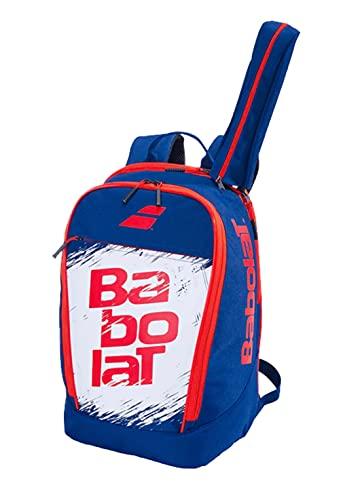 Babolat Backpack Classic Club Mochila, Adultos Unisex, Bleu Marine/Blanc (Blanco), Talla Única