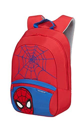 Samsonite Disney Ultimate 2.0 - Mochila Infantil S+, 35 cm, 11 L, Rojo (Spider-Man)