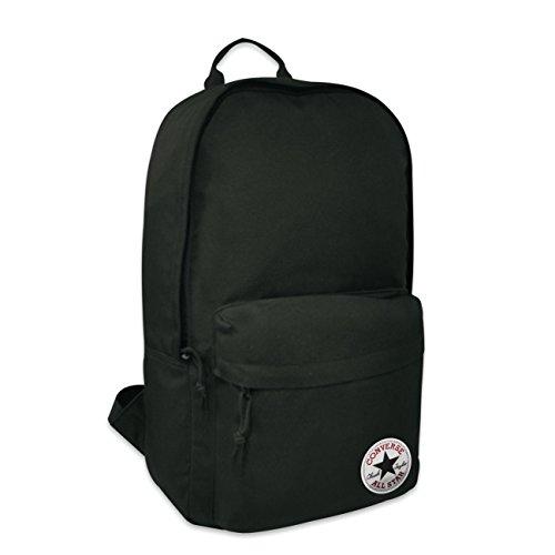 Converse Edc Pack Poly Mochila Tipo Casual, 45 cm, 19 litros, Negro