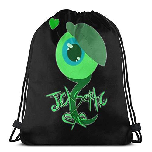 AOOEDM Jack Septic Eye Youtubers Mochila deportiva Mochila con cordón Bolsa de gimnasio Saco
