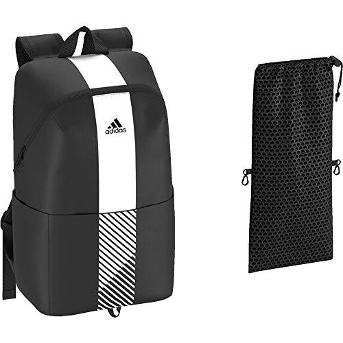 adidas DW4746, Mochila Unisex Adultos, Negro (Negro/Blanco/Negro), 36x24x45 cm (W x H x L)