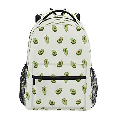 GIGIJY - Mochila de aguacate para la escuela, mochila de viaje, casual, para niños, niñas, hombres, mujeres