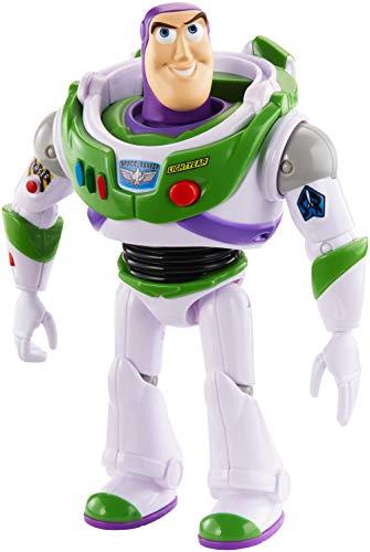 Mattel- Disney Toy Story 4-Figura con Voces y Sonidos Buzz Lightyear, Juguetes niños +3 años GGT32, Multicolor