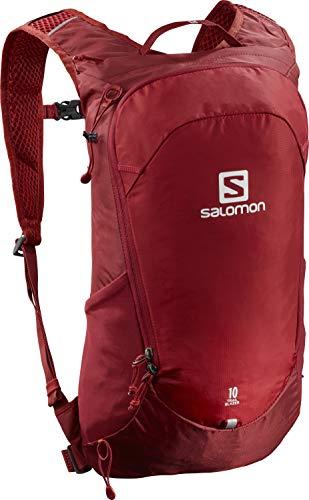 Salomon Trailblazer 10 L Mochila multifuncional con comodidad 3D y compatibilidad con el sistema de hidratación para el senderismo