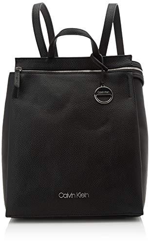 Calvin Klein - Sided Backpack, Mochilas Mujer, Negro (Black), 1x1x1 cm (W x H L)