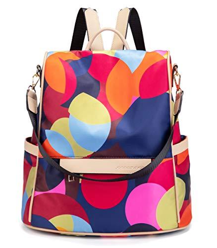 shepretty Mochila Oxford antirrobo Impermeable para Mujer Color, 648-MIColor-L