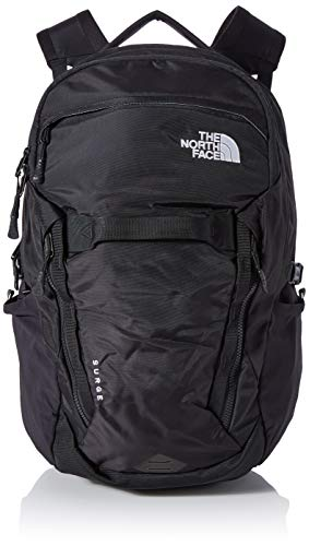 The North Face Surge, Mochila, Unisex adulto, Negro (TNF Black), Talla Única